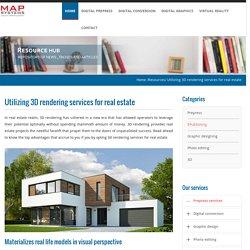 Utilizing 3D rendering services for real estate