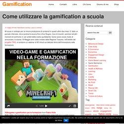 Come utilizzare la gamification a scuola