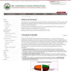 Utilizzo del Compost