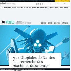 Aux Utopiales de Nantes, à la recherche des machines de science-fiction