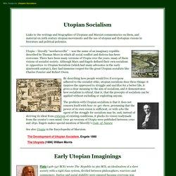 Utopian Socialism Archive