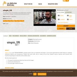utopic_US in La Bolsa Social
