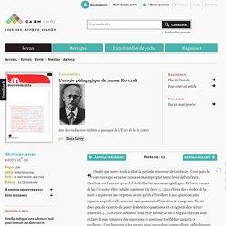 L'utopie pédagogique de Janusz Korczak