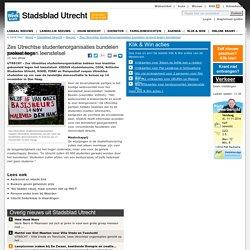 Zes Utrechtse studentenorganisaties bundelen protest tegen leenstelsel