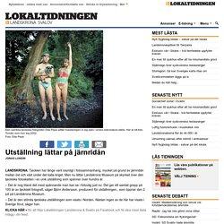 Utställning lättar på järnridån - Lokaltidningen Landskrona & Svalöv