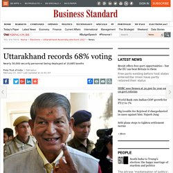 Uttarakhand records 68% voting