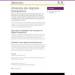 Utveckla din digitala kompetens