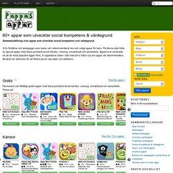 60+ appar som utvecklar social kompetens & värdegrund