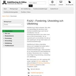 FoUU - Forskning, Utveckling och Utbildning