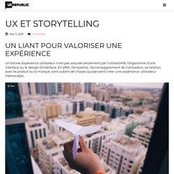 UX et Storytelling