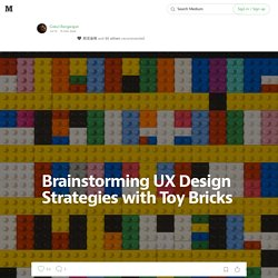 UX LEGO Design process