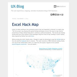Excel Hack Map