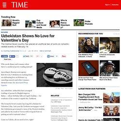 Uzbekistan Shows No Love for Valentine's Day