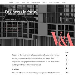V&A · Engineers in focus