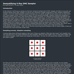 V-Ray DMC Sampler