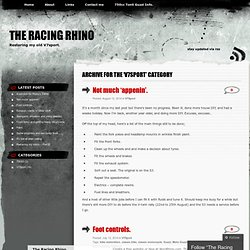 The Racing Rhino