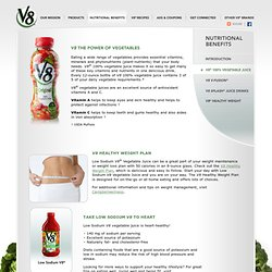 V8 - V8—The power of vegetables