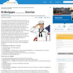 VA Mortgages .............. Overview
