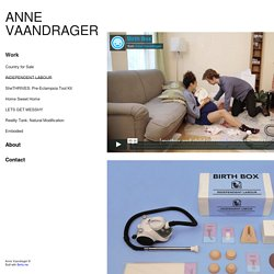 Anne Vaandrager / Work / INDEPENDENT LABOUR
