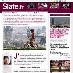 Vacances à vélo: gare au bilan carbone!