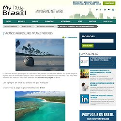 Vacances au Brésil, nos 7 plages préférées