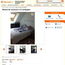 Maison de vacances a la campagne Locations & Gîtes Morbihan