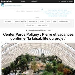 """Center Parcs Poligny : Pierre et vacances confirme """"la faisabilité du projet"""" - France 3 Bourgogne-Franche-Comté"""