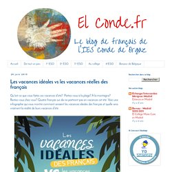 El Conde. fr: Les vacances idéales vs les vacances réelles des français