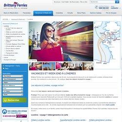 Vacances et week-end, séjours à Londres – Brittany Ferries - Brittany Ferries