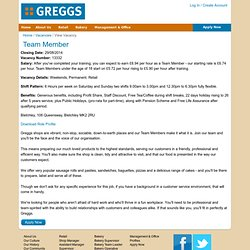 Greggs - The Home of Fresh Baking