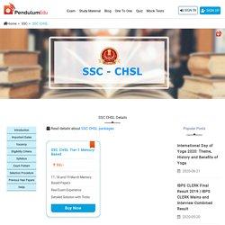 SSC CHSL Exam 2020 - SSC CHSL Vacancy, Syllabus, Exam Pattern, Eligibility