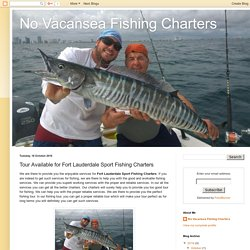 Fort Lauderdale Sport Fishing Charters