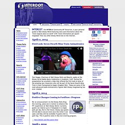 Walt Disney World - Disney World Vacation Information Guide - INTERCOT - Walt Disney World Inside & Out