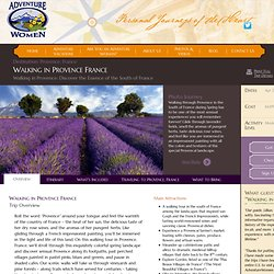 France Vacation for Women; Provence Walking Tour; South of France