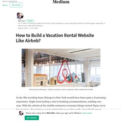 How to Build a Vacation Rental Website Like Airbnb?