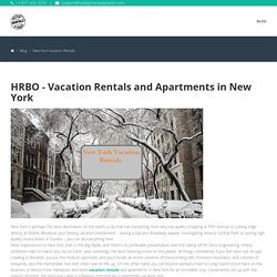 Vacation Rentals and Apartments in New York