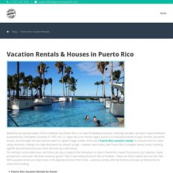 Vacation Rentals & Houses in Puerto Rico