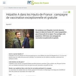 Hépatite A dans les Hauts-de-France : campagne de vaccination exceptionnelle et gratuite