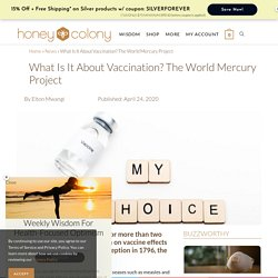 What Is It About Vaccination? The World Mercury Project - HoneyColony