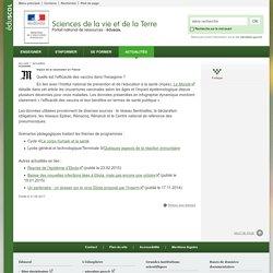 Impact de la vaccination en France-Sciences de la vie et de la Terre-Éduscol