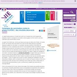 Grippe A H1N1, vaccinations, bilan, rapport parlementaire, Roselyne Bachelot. En bref - Actualités