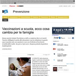 Vaccinazioni a scuola, ecco cosa cambia per le famiglie