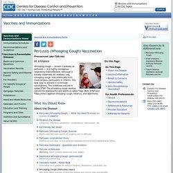 Vaccines: VPD-VAC/Pertussis/main page