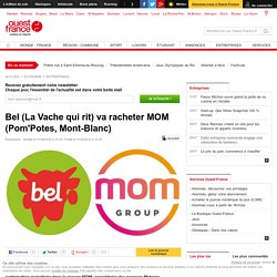Bel (La Vache qui rit) va racheter MOM (Pom'Potes, Mont-Blanc)