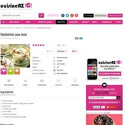 normal - Recette de Vacherins aux noix par CuisineAZ