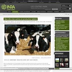 INRA 22/04/14 Bien-être des vaches et production laitière.