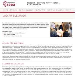 Sveriges elevråd – SVEA