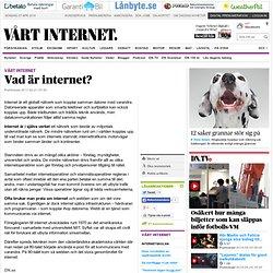Vad är internet?