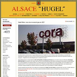Vade Retro, nos vins ne seront pas en GD ! - Hugel & Fils : Archives