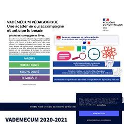 VADEMECUM CONTINUITE PEDA 2020-2021